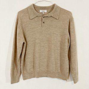 Turnbury Merino Wool Sweater Women's Size XL Tan